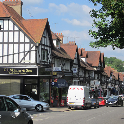 Chalfont st Peter High Street