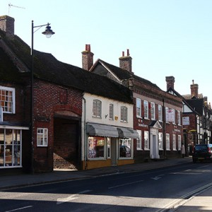 Wendover high street and shops