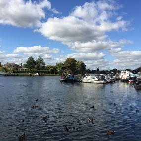 Bourne End with river views boats and ducks