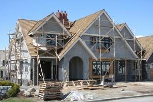House under construction crop