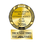 The Sunday Times relocation agent gold award 2016
