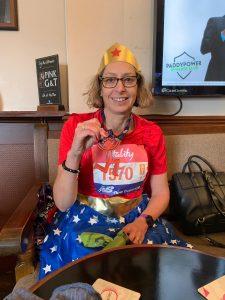 Medal for half marathon Vitality Big Half